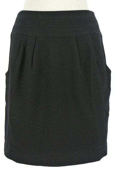 LE SOUK(ルスーク)の古着「バックファスナーコクーンスカート(ミニスカート)」大画像1へ