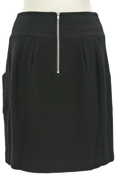 LE SOUK(ルスーク)の古着「バックファスナーコクーンスカート(ミニスカート)」大画像2へ