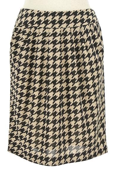 BRILLIANT STAGE(ブリリアントステージ)の古着「千鳥格子柄膝丈スカート(ミニスカート)」大画像1へ