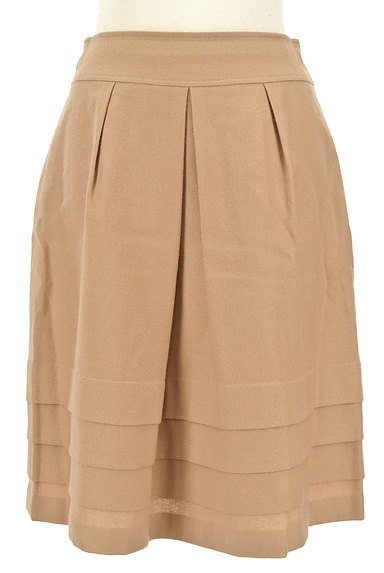 INDIVI(インディヴィ)の古着「タック×切替ティアードスカート(スカート)」大画像1へ