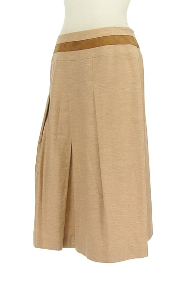 SCAPA(スキャパ)の古着「ウエストラインタックフレアスカート(スカート)」大画像3へ