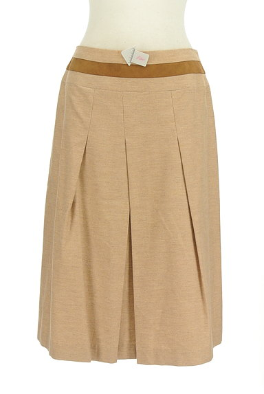 SCAPA(スキャパ)の古着「ウエストラインタックフレアスカート(スカート)」大画像4へ