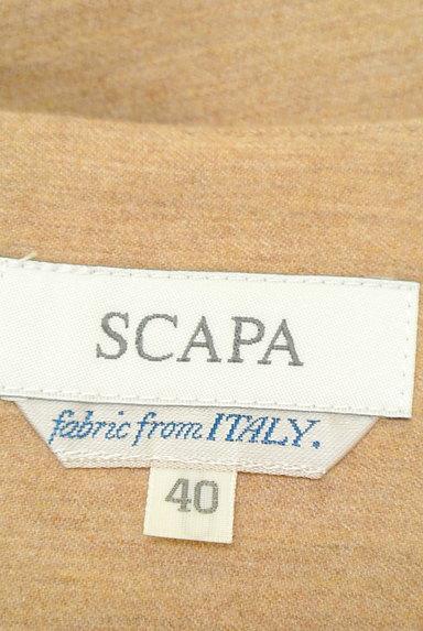 SCAPA(スキャパ)の古着「ウエストラインタックフレアスカート(スカート)」大画像6へ