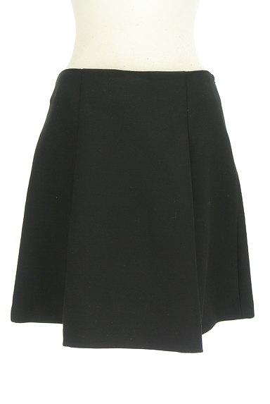 M-premier(エムプルミエ)の古着「無地タックフレアスカート(ミニスカート)」大画像1へ
