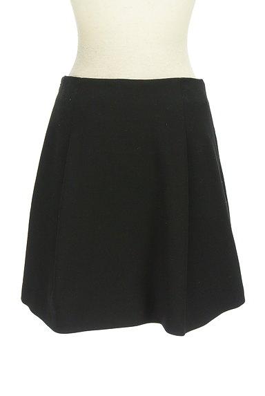 M-premier(エムプルミエ)の古着「無地タックフレアスカート(ミニスカート)」大画像2へ