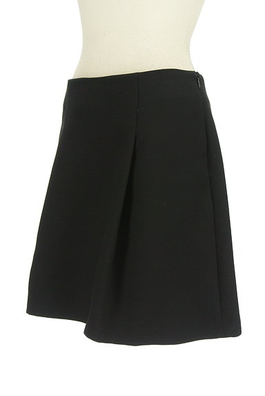 M-premier(エムプルミエ)の古着「無地タックフレアスカート(ミニスカート)」大画像3へ