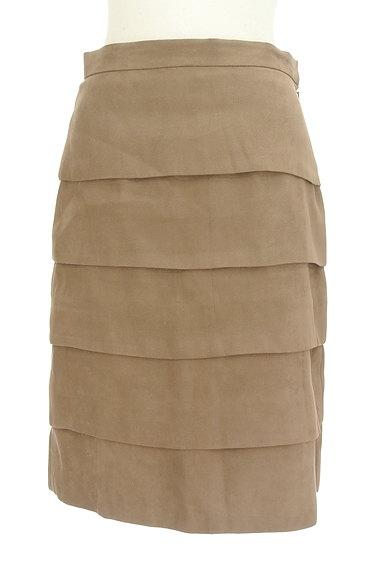 M-premier(エムプルミエ)の古着「膝丈ティアードスカート(スカート)」大画像1へ