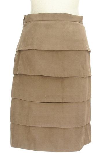 M-premier(エムプルミエ)の古着「膝丈ティアードスカート(スカート)」大画像2へ