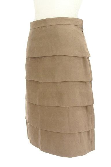 M-premier(エムプルミエ)の古着「膝丈ティアードスカート(スカート)」大画像3へ