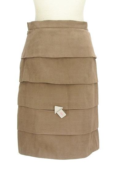 M-premier(エムプルミエ)の古着「膝丈ティアードスカート(スカート)」大画像4へ