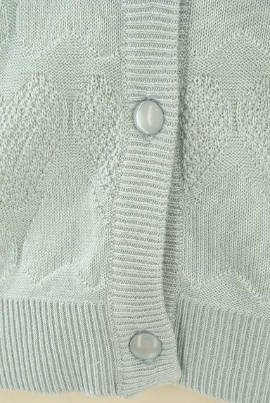 MILKFED.(ミルク フェド)の古着「ハート柄織り模様ニットカーデ(カーディガン・ボレロ)」大画像5へ