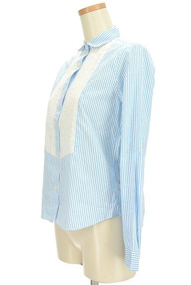 IENA(イエナ)の古着「ピンタック切替ストライプシャツ(カジュアルシャツ)」大画像3へ