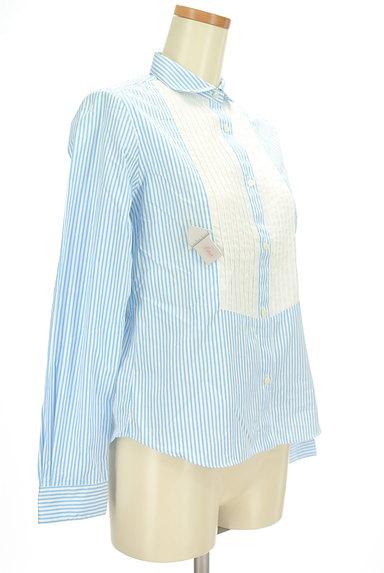 IENA(イエナ)の古着「ピンタック切替ストライプシャツ(カジュアルシャツ)」大画像4へ