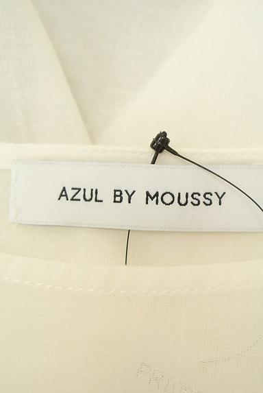 AZUL by moussy(アズールバイマウジー)の古着「BIGリボン結びトップス(カットソー・プルオーバー)」大画像6へ