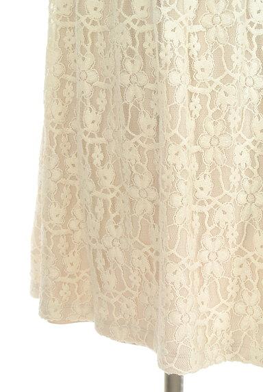 L'EST ROSE(レストローズ)の古着「パフスリトップス×レーススカート切替ワンピ(カットソー・プルオーバー)」大画像5へ