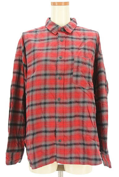 CUBE SUGAR(キューブシュガー)の古着「チェック柄シャツ(カジュアルシャツ)」大画像1へ