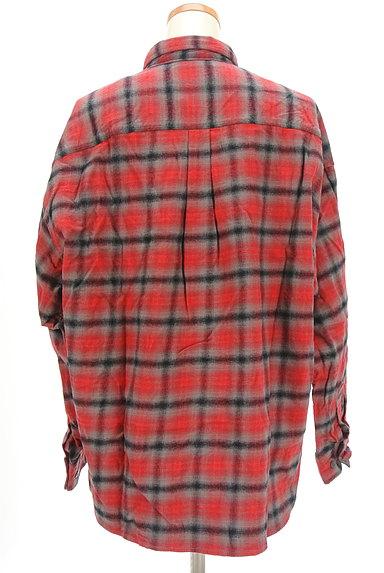 CUBE SUGAR(キューブシュガー)の古着「チェック柄シャツ(カジュアルシャツ)」大画像2へ
