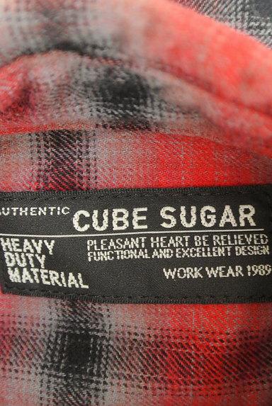 CUBE SUGAR(キューブシュガー)の古着「チェック柄シャツ(カジュアルシャツ)」大画像6へ