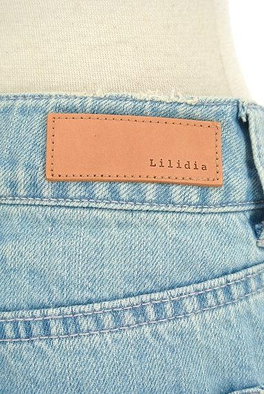 Lilidia(リリディア)の古着「ダメージ加工×ハードウオッシュデニム(デニムパンツ)」大画像4へ
