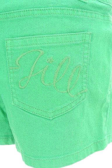 JILL by JILLSTUART(ジルバイジルスチュアート)の古着「カラーコンパクトパンツ(ショートパンツ・ハーフパンツ)」大画像4へ