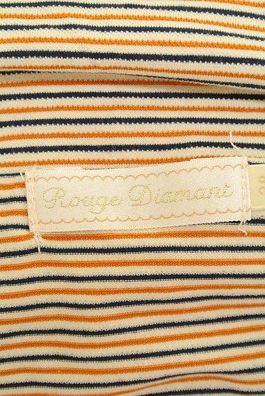 RD ROUGE DIAMANT(アールディー ルージュ ディアマン)の古着「オフショルボーダーカットソー(カットソー・プルオーバー)」大画像6へ