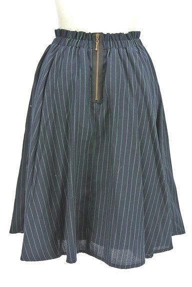 RD ROUGE DIAMANT(アールディー ルージュ ディアマン)の古着「ストライプ柄バックファスナースカート(スカート)」大画像2へ