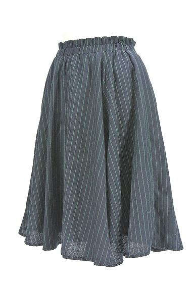 RD ROUGE DIAMANT(アールディー ルージュ ディアマン)の古着「ストライプ柄バックファスナースカート(スカート)」大画像3へ