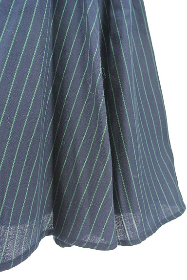RD ROUGE DIAMANT(アールディー ルージュ ディアマン)の古着「ストライプ柄バックファスナースカート(スカート)」大画像5へ