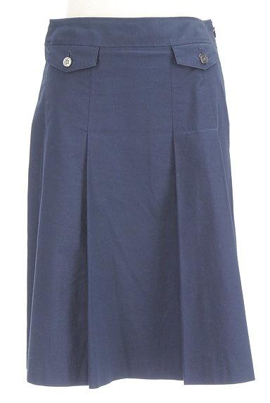 COMME CA DU MODE(コムサデモード)の古着「タックフレアミディ丈スカート(スカート)」大画像1へ