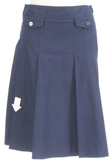 COMME CA DU MODE(コムサデモード)の古着「タックフレアミディ丈スカート(スカート)」大画像4へ