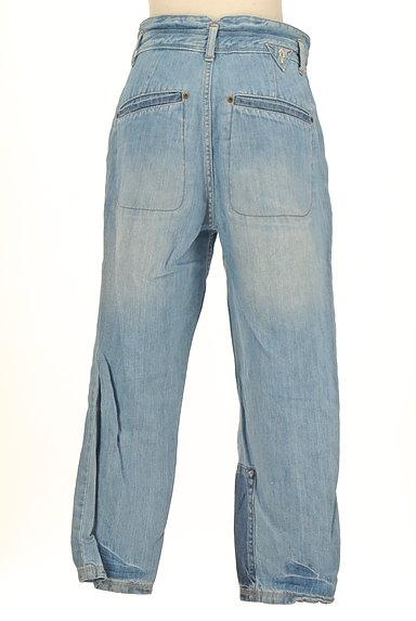 CUBE SUGAR(キューブシュガー)の古着「ペイント×パッチワークジーンズ(デニムパンツ)」大画像2へ