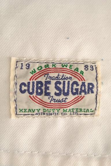 CUBE SUGAR(キューブシュガー)の古着「ペイント×パッチワークジーンズ(デニムパンツ)」大画像6へ