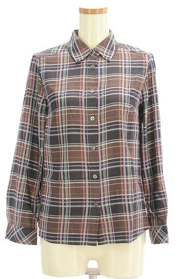 SCAPA(スキャパ)の古着「チェック柄シャツ(カジュアルシャツ)」大画像1へ