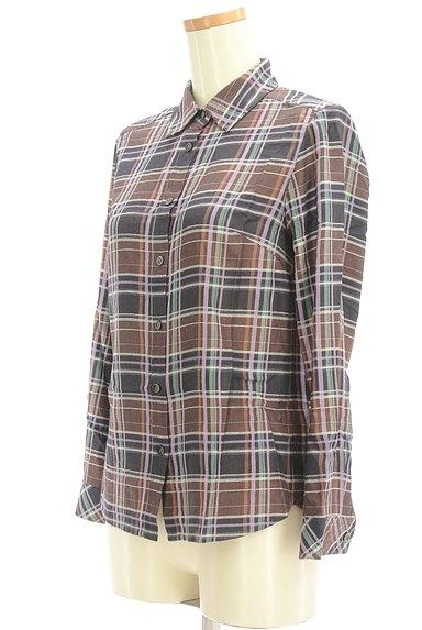 SCAPA(スキャパ)の古着「チェック柄シャツ(カジュアルシャツ)」大画像3へ