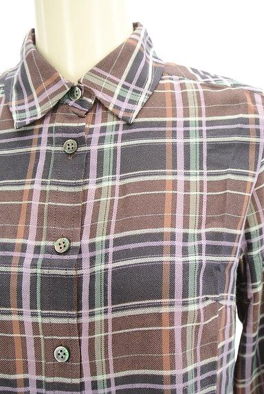 SCAPA(スキャパ)の古着「チェック柄シャツ(カジュアルシャツ)」大画像4へ