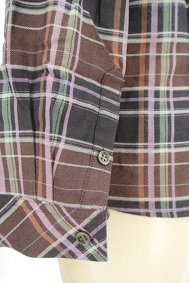 SCAPA(スキャパ)の古着「チェック柄シャツ(カジュアルシャツ)」大画像5へ