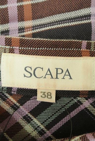 SCAPA(スキャパ)の古着「チェック柄シャツ(カジュアルシャツ)」大画像6へ