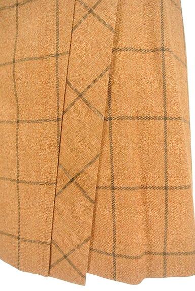 SCAPA(スキャパ)の古着「格子柄ラップ風デザイン膝丈スカート(スカート)」大画像5へ