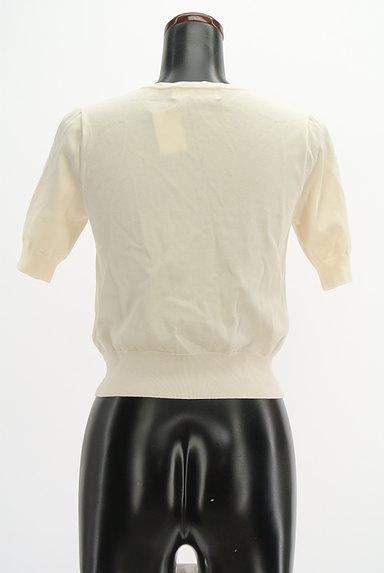 LAISSE PASSE(レッセパッセ)の古着「ビーズデザインコンパクトカーディガン(カーディガン・ボレロ)」大画像2へ