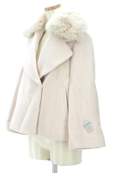LAISSE PASSE(レッセパッセ)の古着「2Wayファー付ショートコート(コート)」大画像4へ