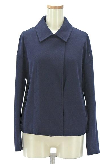 Viaggio Blu(ビアッジョブルー)の古着「シンプルショートコート(ジャケット)」大画像1へ