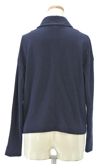 Viaggio Blu(ビアッジョブルー)の古着「シンプルショートコート(ジャケット)」大画像2へ