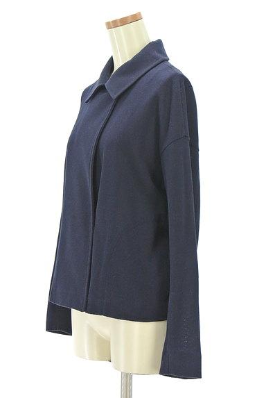 Viaggio Blu(ビアッジョブルー)の古着「シンプルショートコート(ジャケット)」大画像3へ