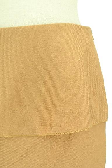 INDIVI(インディヴィ)の古着「ドレープフリルセミタイトミニ(ミニスカート)」大画像5へ
