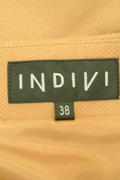 INDIVI(インディヴィ)の古着「ドレープフリルセミタイトミニ(ミニスカート)」大画像6へ