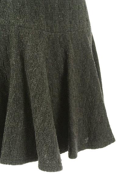 Stola.(ストラ)の古着「フィット&フレアミニスカート(ミニスカート)」大画像5へ