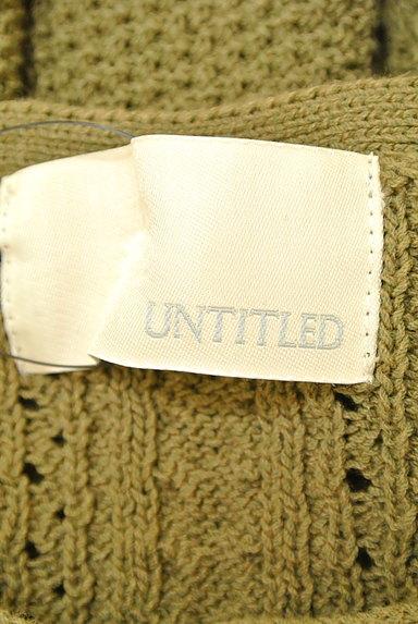 UNTITLED(アンタイトル)レディース ニット PR10223134大画像6へ