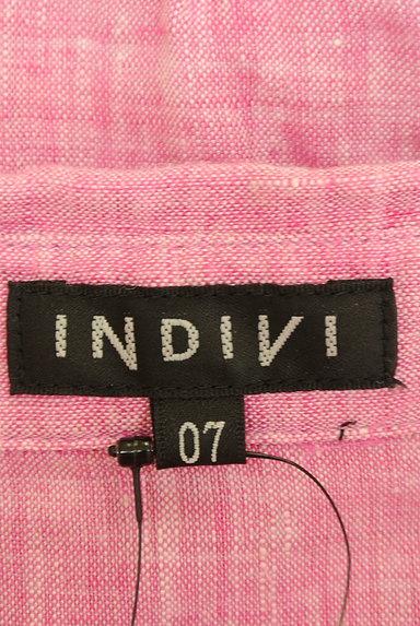 INDIVI(インディヴィ)レディース カジュアルシャツ PR10223149大画像6へ