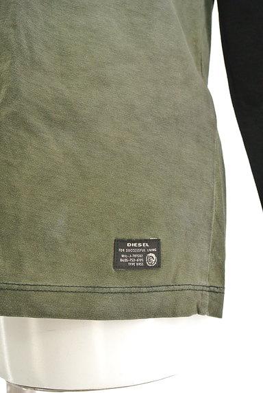 DIESEL(ディーゼル)の古着「タイダイ切替クルーネックTシャツ(Tシャツ)」大画像5へ