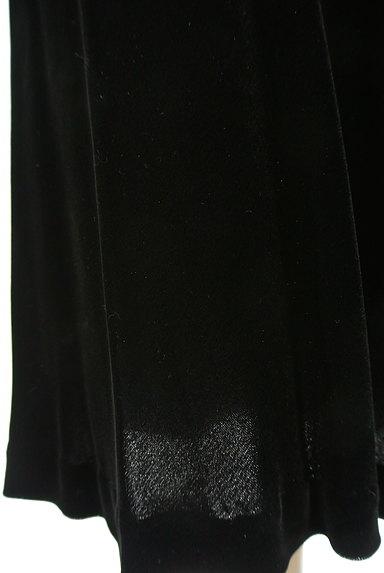 LAUTREAMONT(ロートレアモン)の古着「ウエストリボン付ベロアロングワンピース(キャミワンピース)」大画像5へ